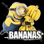 Playera Minions Mi Villano Favorito Bananas Sp0