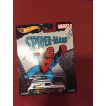 Hot Wheels Pop Culture Spider Man 2015 Chevy Llantas De Goma