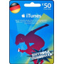 Tarjeta Gift Card Itunes Alemania 50 Euros Ipod Ipad Iphone