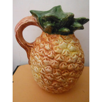 Jarra Pina Italia Europa Ceramics Of Bassano Souvenir Fruta