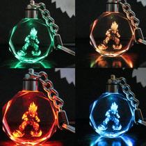 Llavero Dragon Ball Gokú Led Colores Cambiantes Parpadeantes