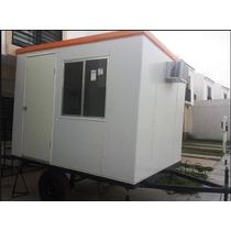 Caseta Oficina Movil Nueva , Camper , Remolque P/ 2 Sin Wc