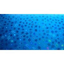 Cartulina Kromecote Decorado Metalico De Estrellas
