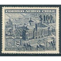 Sc C191 Año 1956 Chile Santa Maria Valparaiso Universidad