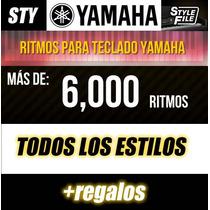 Ritmos Estilos Sty Para Teclados Yamaha
