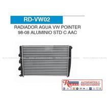 Radiador Vw Pointer 98-08 Agua Std Con Aac / Accesorios