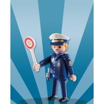 Playmobil 5596 Figura #11 Policia Ciudad Serie 8 Retromex