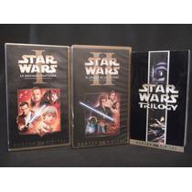 Películas Star Wars Ep. 1, 2, 4, 5 Y 6 Originales Vhs