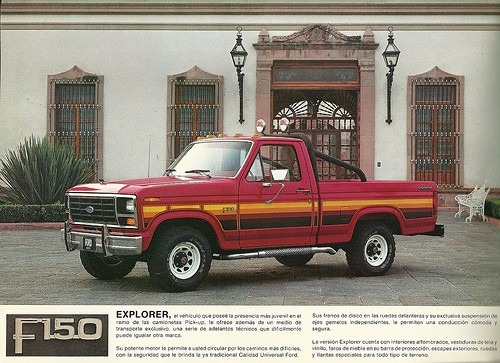 tapiceria ford f 150 f 250 explorer bronco 1980 al 1986 1965 Ford F-250 1977 Ford F-250