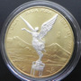 Medalla Onza Color Oro Angel Plata Edicion Limitada 2014