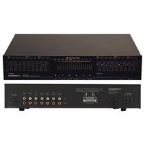 Ecualizador De Banda Gráfico Audiosource Eq-200