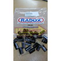 25 Pzas Capacitor Electrolito 470/25r Bajo V. 100403