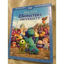 Monsters University Br/dvd Disney Nueva Y Sellada