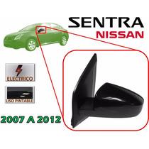 07-12 Nissan Sentra Espejo Lateral Electrico Lado Izquierdo