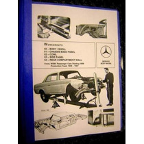 Mercedes Benz Clasico Manual 220b 220sb 220seb S Sedan 1960
