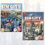 Simcity + Simcity Ciudades Del Mañana - Original