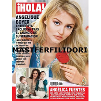 Angelique Boyer Revista Hola Marzo 2014 Rbd Rebelde
