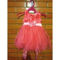Vestido De Fiesta Niña Bebé De 9 A 12 Meses