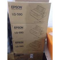 Impresora Epson Lq590 Fx890 Matriz En Caja Manuales Disco