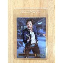 Tarjeta Autografiada Star Wars Han Solo, Randy Martínez