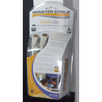 Monster Hdmi Cable Digital Audio / Video 1080p 2.44 Mts