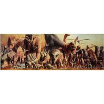 Rompecabezas Dinosaurios Panorámico! 1000 Pzas