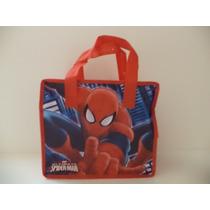 Spider-man Fiestas 10 Bolsas Dulceros Aguinaldos Bolo