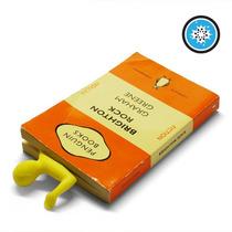 Separador De Libros Forma De Muñeco Amarillo Lectura