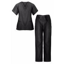 Uniform Medico Unisex 2 Piezas V-cuello 2 Bolsillo Superior