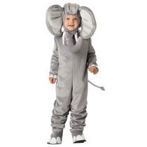 Disfraz Bebe Niño Niña Leon Elefanttito Elefante Primavera