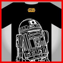 Star Wars R2d2 Vectores, Serigrafia, Separacion De Color