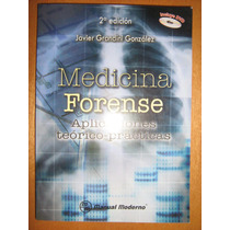 Medicina Forense. Aplicaciones Teórico Prácticas C/cd. Libro