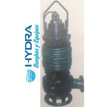 Bomba Sumergible Para Agua Sucia 30 Hp
