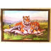 Cuadro Grande Nuevo Pareja Tigres