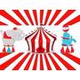 Kit Imprimible 2x1 Circo Payasos Cotillón Candy Invitaciones