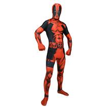 Deadpool Traje - Medio Morphsuit Adultos Marvel Comic