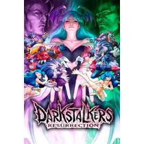 Darkstalkers Ressurection Morrigan Poster 30x46cm Videojuego