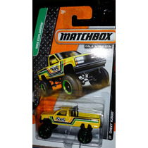 Matchbox Chevy K1500 Amarilla