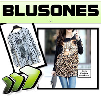 Blusones Fashion Ropa Blusas Mujer Moda Japonesa Oferta Ofp