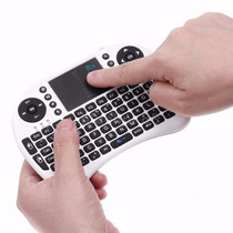 Mini Teclado Wireless Con Pad Tactil Inteligente Android Pc