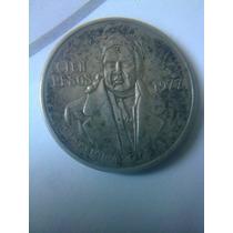 Moneda 100 Pesos Morelos 1977