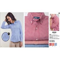Uniforme Camisa Blusa Eros Dacache, Serigrafia,bordadora