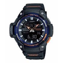 Reloj Casio Sgw450 Altimetro Barometro Termometro 5 Alarmas