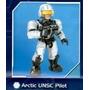 Artic Unsc Pilot - Halo Mega Bloks Figura Individual
