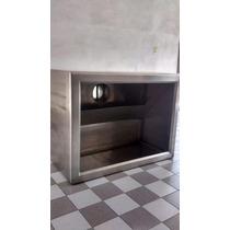 Campana De Cocina Acero Inoxidable 1.20 X 90 Cmts