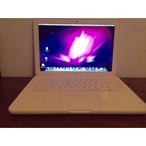 Macbook Blanca 2009 Usada Sistema Operativo Mejorado