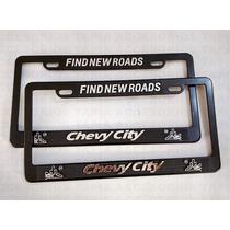 Porta Placa Para Autos Y Camionetas Chevy