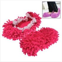 Multifunción Cubierta De Zapatos Mop - Piso Limpio (magenta)