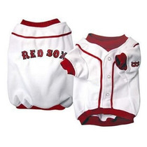 Camisa Para Perro Jersey De Béisbol - Boston Red Sox Xl
