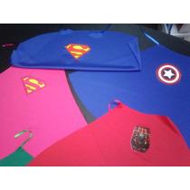 10 Capas Superheroes O Princesas Souvenir, Recuerdo, Regalo
